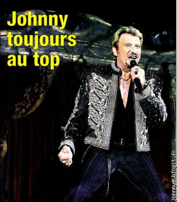 johnny au top des top